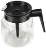 Moccamaster glass jug black 10 cups, mixing lid
