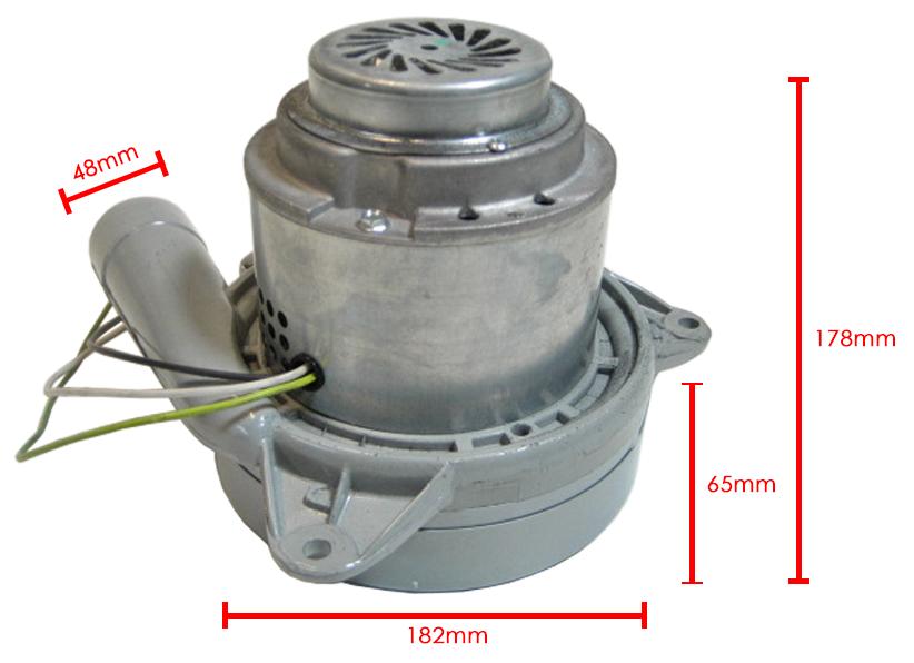 Keskuspölynimurin Moottori