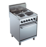Stove / Fan-assisted oven 115048