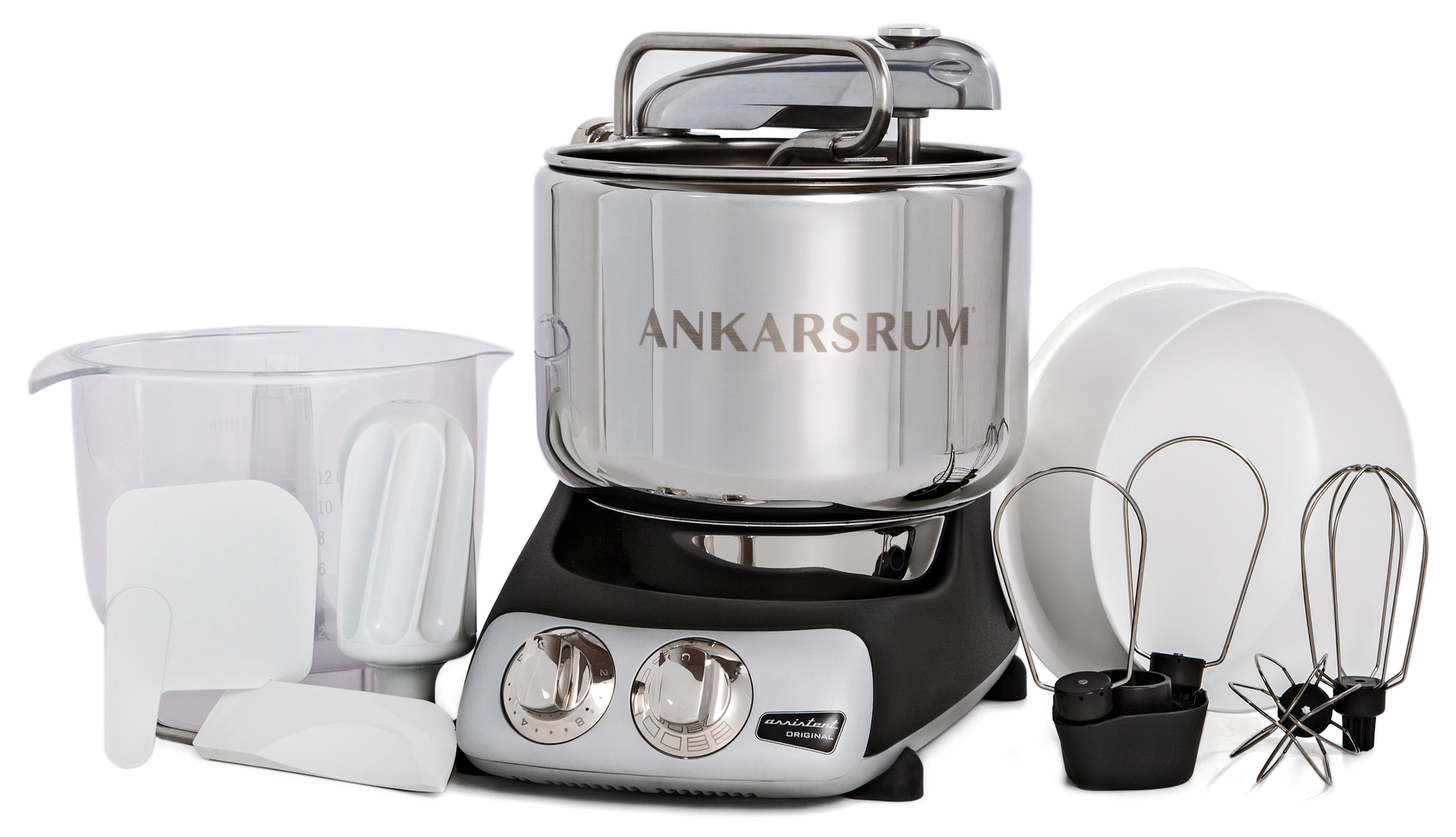 Ankarsrum Original multifunction mixer, Matte Black (2300100)