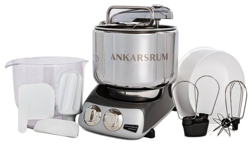 Ankarsrum Original Multifunction Mixer, Chrome Black (2300107)