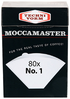Moccamaster Cup-One no. 1 suodatinpussit 80kpl