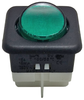 Switch with green indicator light