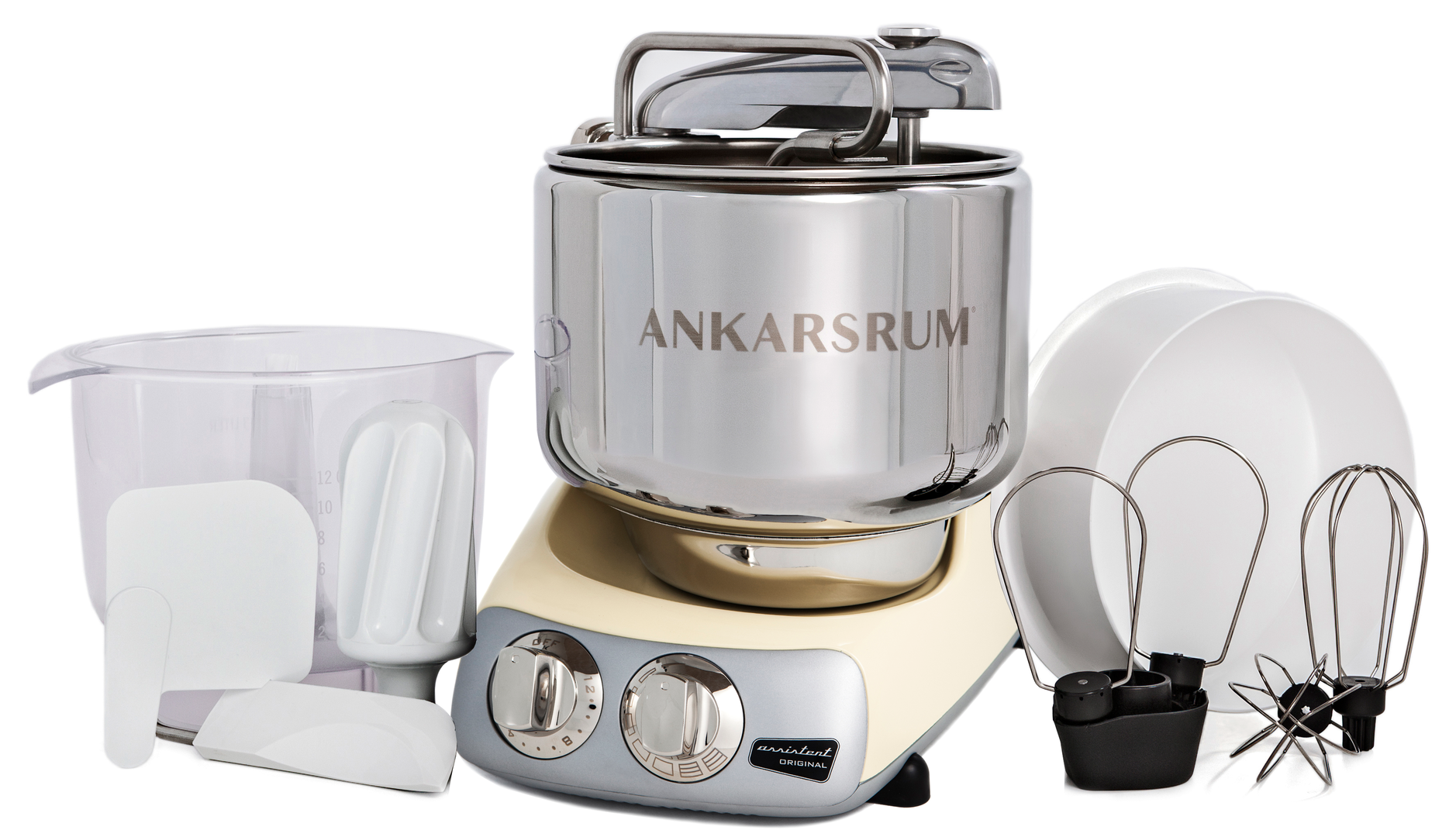 Ankarsrum Original Multifunction Mixer, Crème (2300106)