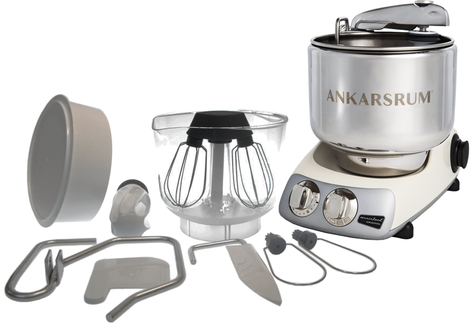 Ankarsrum Original multifunction mixer, Crème Light (2300110)