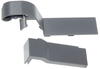Samsung fridge door hinge covers, left RB29/RB31 (DA91-04464A)
