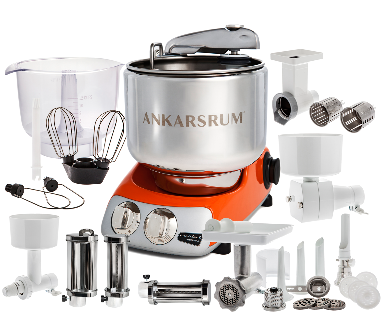 Ankarsrum Original Total mixer, Orange (2300109)