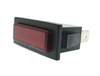 Red indicator light, 230V AC, 30.4 x 11.2mm