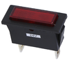 Red indicator light, 24V DC, 30.4 x 11.2mm