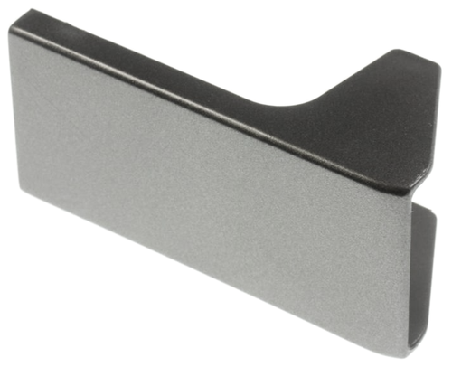 LG fridge door handle cover, grey bottom