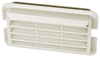 Miele dishwasher fan output grille, white