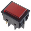 Signal lamp red, 30x22mm 230V